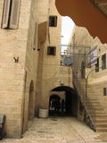 Jewish quarter in Jerusalem Old city. Israel. Stock Image