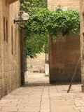 Jewish quarter in Jerusalem Old city. Israel. Stock Photos