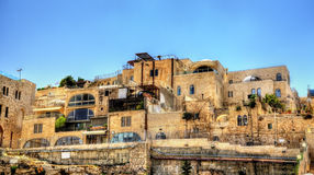 Jewish Quarter in the old city of Jerusalem Stock Photography