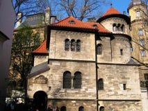 Jewish Quarter in Prague. Ceremonial Hall (Prague Burial Society Building), an exhibition venue housing the permanent exhibition of the Jewish Museum Prague Stock Photos