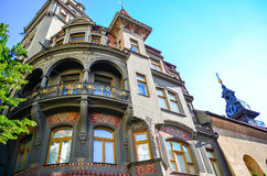 Jewish Quarter in Prague royalty free stock images