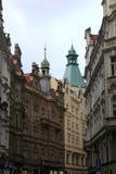 Jewish Quarter in Prague Stock Photos