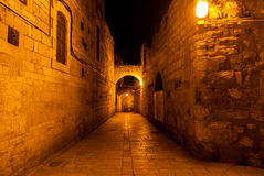 Jewish Quarter Streets, Jerusalem Royalty Free Stock Images