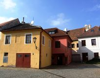 Jewish quarter in Trebic Royalty Free Stock Image