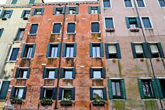 Jewish Quarter (Venice). Houses in the Jewish quarter in Venice Stock Photography