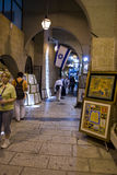 Jewish quater in Jerusalem Old city Royalty Free Stock Photography