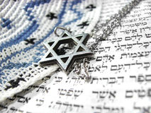 Jewish religious symbols closeup 2 Royalty Free Stock Photo