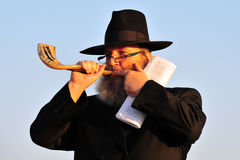 The Jewish Ritual - Tashlich Stock Photos
