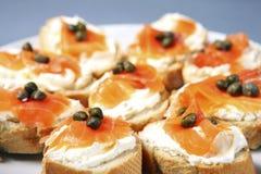 Jewish sandwiches Stock Images