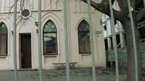 Jewish school panorama stock video footage