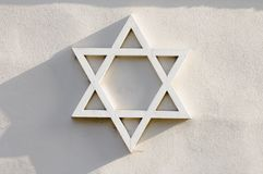 Jewish star Royalty Free Stock Image