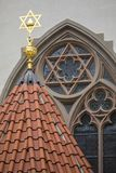 Maisel Synagogue in Prague Royalty Free Stock Photos