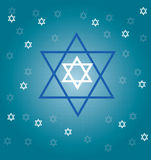 Jewish stars Royalty Free Stock Photos