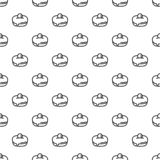 Jewish sweet bakery pattern seamless vector stock illustration