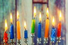 Jewish symbol Hanukkah, jewish holiday the Festival of Lights. Jewish holiday jewish symbol Hanukkah, the Jewish Festival of Lights Stock Photography