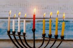 Chanukah Menorah Chanukiah Jewish holiday background. Jewish symbol holiday background Chanukah Menorah Chanukiah royalty free stock photo