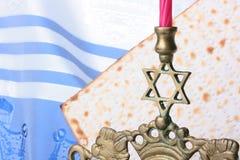 Jewish symbols Stock Photo