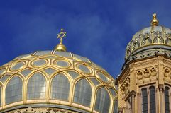 The jewish synagogue in Berlin IV. The jewish synagogue in Berlin Stock Photo