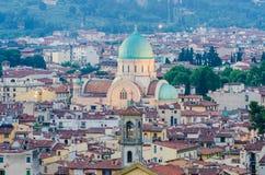 Jewish Synagogue of Florence Stock Photos