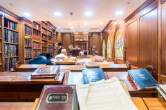 In Jewish synagogue in Jerusalem, Israel Stock Image
