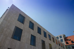 Jewish synagogue Munich. With blue sky background Royalty Free Stock Photography