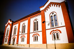 Jewish Synagogue at Ruzomberok, Slovakia Stock Photo
