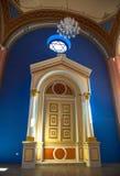 Jewish Synagogue at Ruzomberok, Slovakia. Jewish Synagogue at town Ruzomberok, Slovakia royalty free stock photos