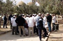 The Jewish Temple Mount Faithful Movement Stock Image