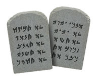 Jewish Ten Commandments Royalty Free Stock Images