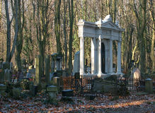 Jewish tombs. Royalty Free Stock Photo