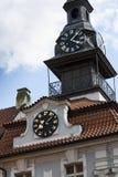 Jewish Town Hall in Prague, Czech republic Royalty Free Stock Photo