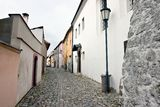 Jewish town in Trebic (Moravia, Czech Republic) Royalty Free Stock Images