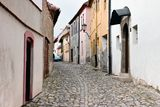 Jewish town in Trebic (Moravia, Czech Republic) Royalty Free Stock Photo