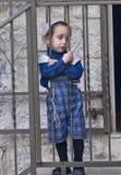 Jewish ultra orthodox child Stock Photos