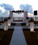 Jewish wedding chupa Royalty Free Stock Image
