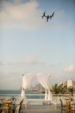 Jewish wedding chuppah Stock Image