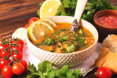 Jewish wedding and holyday Yemenite beef soup Marak Temani. Traditional jewish wedding and holyday Yemenite vegetable beef soup Marak Temani. Yom Kippur. Israeli royalty free stock images