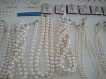 Jewlery Fashion Pearls Diamonds. Fashion Clothing Style Styllish Vintage Trend Lifestyle royalty free stock images