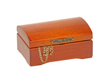Jewlery wooden chest. Stock Images