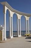 Jewpatorija, beach Royalty Free Stock Photos
