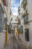 Jewry Street in Cordoba Royalty Free Stock Photos