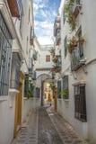 Jewry Street in Cordoba. Spain Royalty Free Stock Photos