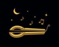 Jews-harp vector illustration Royalty Free Stock Photos