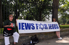 Jews for Jesus Royalty Free Stock Images