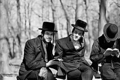 Jews praying Stock Images