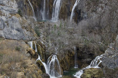 Jezera Plitvicka Στοκ Εικόνες