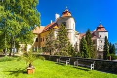 Jezeri pałac Zdjęcie Royalty Free