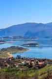 Jezero de Ramsko do lago Rama - Bósnia e Herzegovina Imagens de Stock Royalty Free
