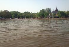 Jezero del ko del ‡ de PaliÄ, Srbija Foto de archivo