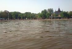 Jezero di ko del ‡ di PaliÄ, Srbija Fotografia Stock